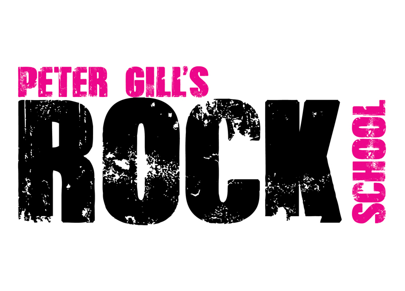 Peter Gill's Rock School logo
