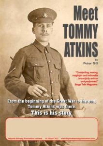 Meet Tommy Atkins @ Bolton School | Bolton | England | United Kingdom