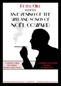 An Evening with the Wit and Songs of Noel Coward @ Acapela Studios | Beetham | England | United Kingdom