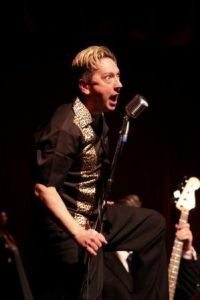 Peter Gill as Jerry Lee Lewis @ Annie's Burger Bar | Stoneleigh | England | United Kingdom