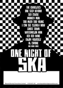 Yesterday's Men Present One Night of Ska! @ The Phoenix Arts Theatre | Bordon | England | United Kingdom