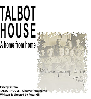 Excerpts from 'Talbot House - a home from home' CD