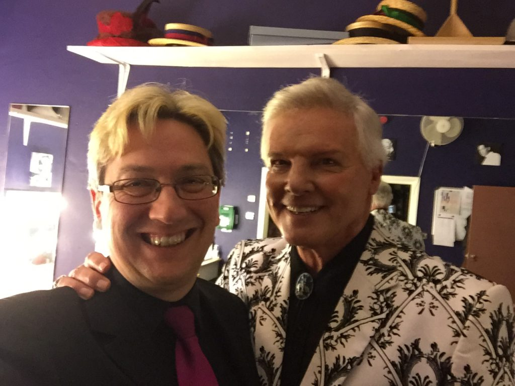 Peter Gill and Jess Conrad