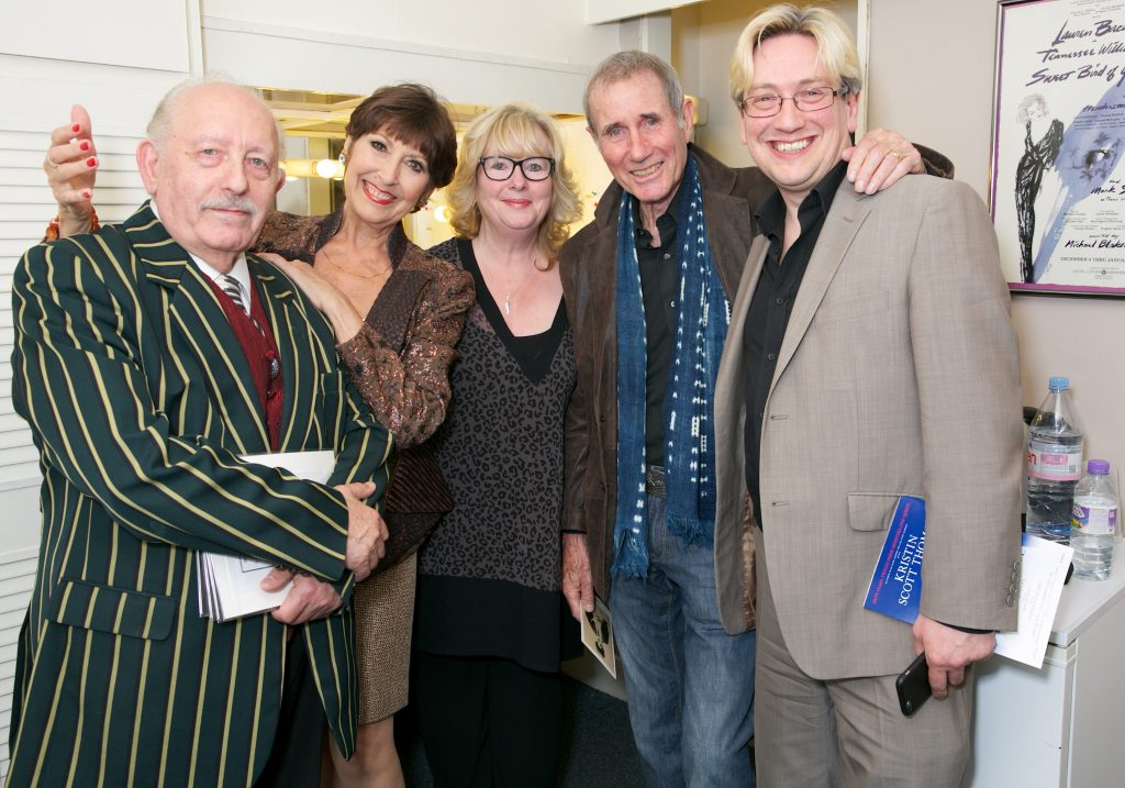 Peter Gill with Jim Dale and Anita Harris