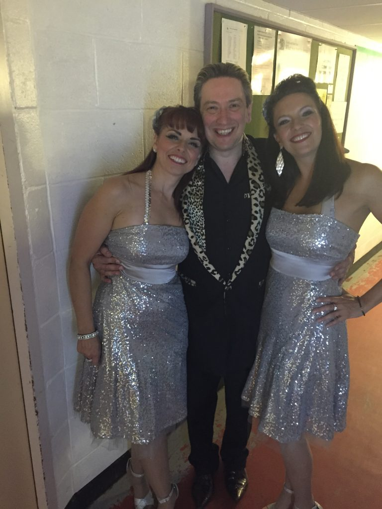 Peter Gill with the Passionettes