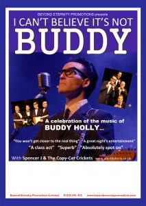 I Can't Believe It's Not Buddy @ Quay Theatre | Stanley | England | United Kingdom