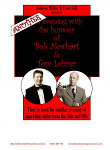 Another Evening of the humour of Bob Newhart and Tom Lehrer @ Yvonne Arnaud Theatre | England | United Kingdom