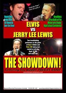 Elvis vs Jerry Lee Lewis: The Showdown @ Acapela Studios | Romford | England | United Kingdom