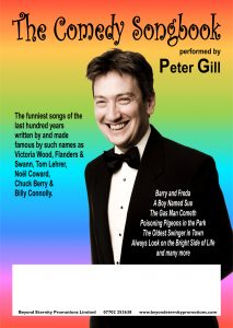 Peter Gill's Comedy Songbook @ Bowhill House Theatre | England | United Kingdom