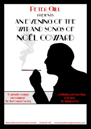 An evening with the wit and songs of Noel Coward