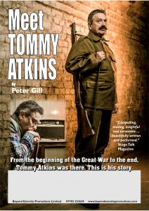 Meet Tommy Atkins @ The Athaeum Theatre | Romford | England | United Kingdom